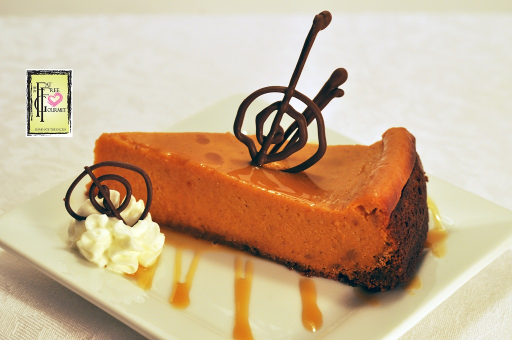 The Fat Free Gourmet's Gran Marnier Holiday Pumpkin Pie