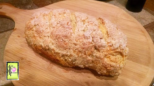 Fat-Free Cheddar Thyme Irish Soda Bread