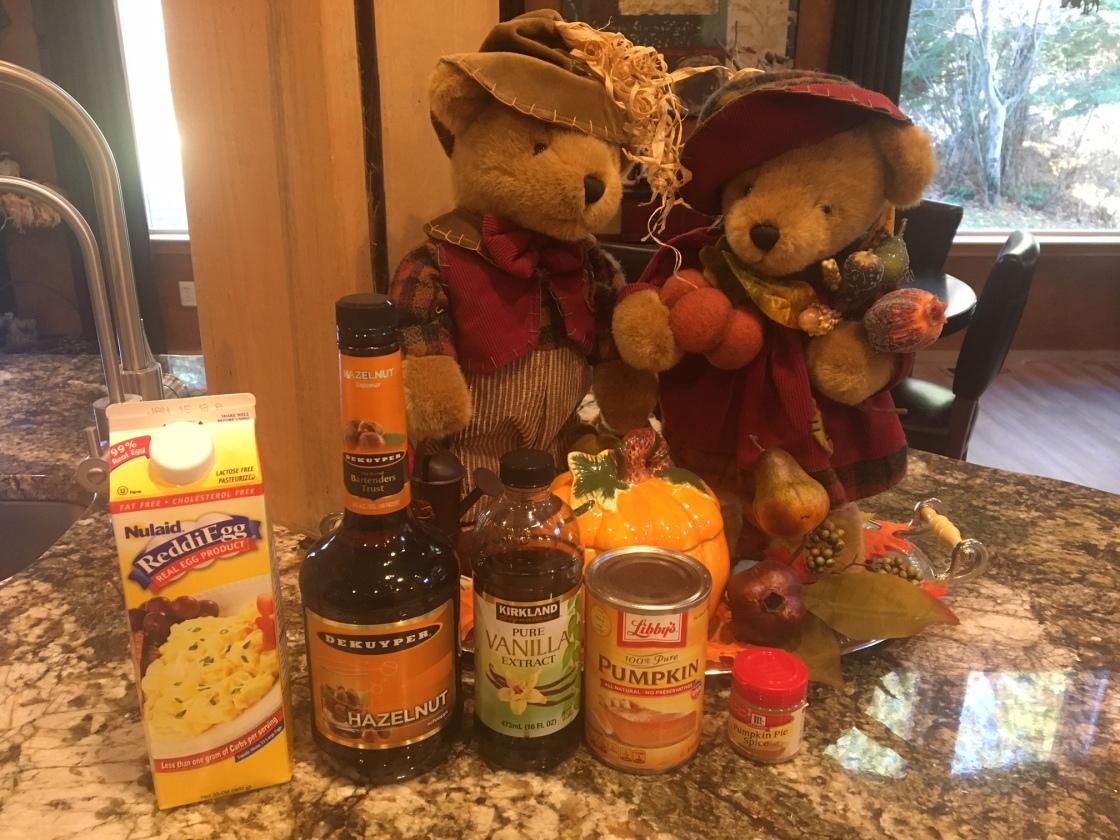 Pumpkin Spice Pizelle